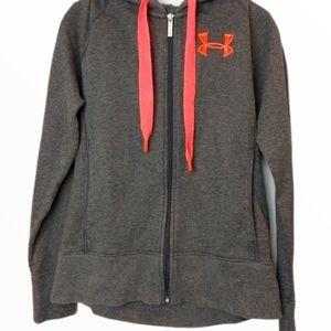 Under Armour Women's Zip up hooded sweatshirt